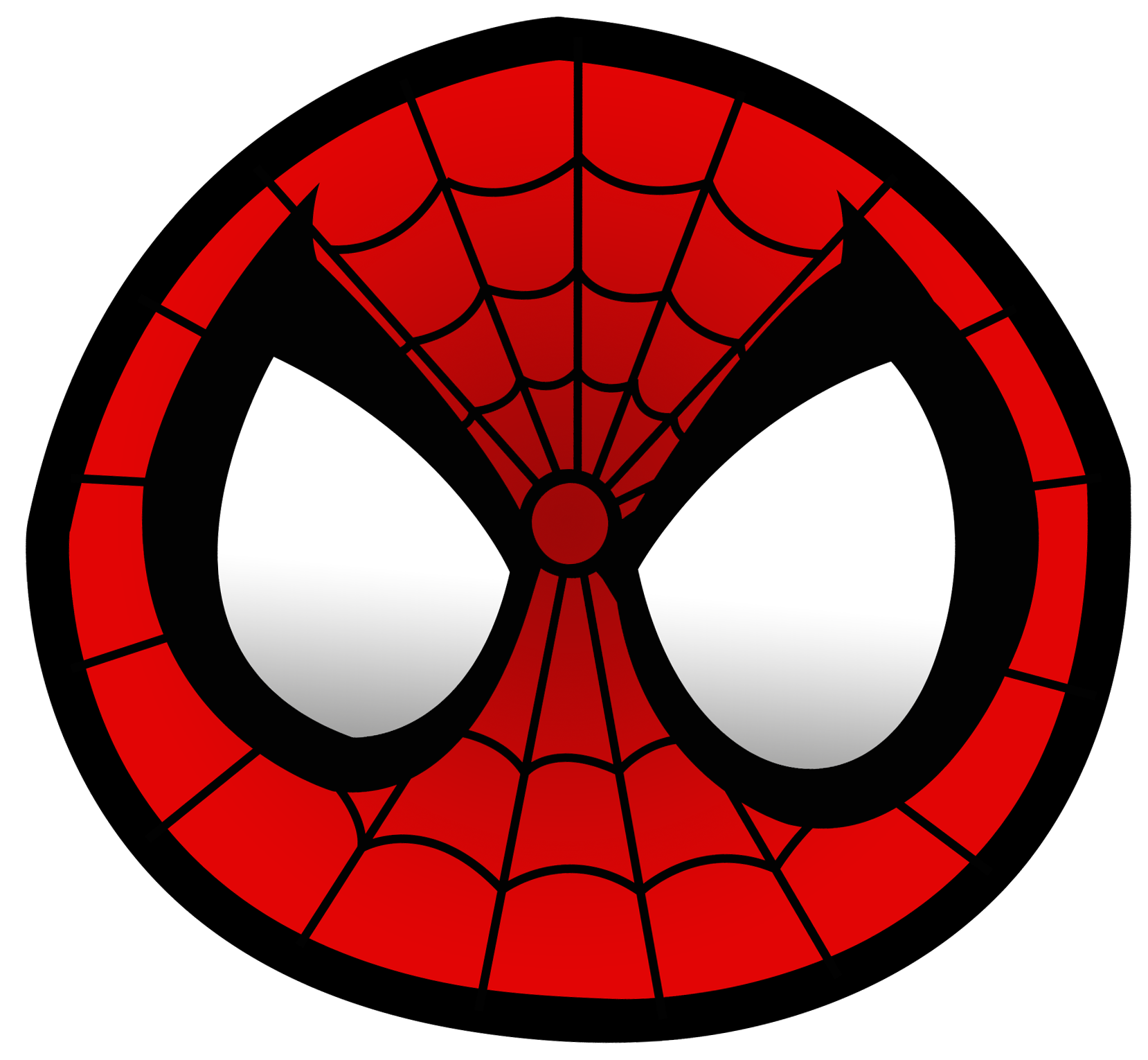 Spiderman face logo - photo#6
